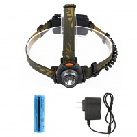 10W 200LM XPE LED Mini IR Infrared Sensor Headlamp Headlight Head Torch Lamp