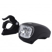 3 Modes Front Headlight Lamp Flashlight Bicycle Light Super Bright LED Reflector