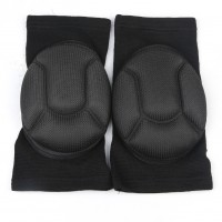 1 pair Football Basketball Volleyball Hiphop Kneecap Sponge Knee Pad Protector