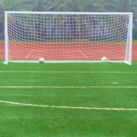 8 x 24FT Football Soccer Goal Post Nets Sport Training Practice outdoor Match