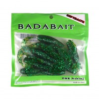10pcs Simulation Worms Fishing Lures Soft Baits Fishing Saltwater Fish 009