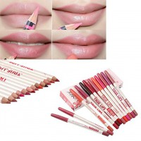 The New Miele 12 Color Lip Liner Pencil Waterproof Anti-lasting Color