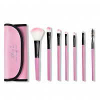 XiXi 7pcs/set Makeup Blush Eyeshadow Lip Brush Cosmetic Brushes Set Kit+Bag Case