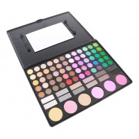 78 Colors Makeup Combination Charming EyeShadow+Lip Gloss+Shading Powder+Blush