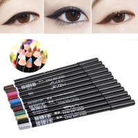 12 Colors Eye Make Up Eyeliner Pencil Waterproof Eyebrow Beauty Cosmetics