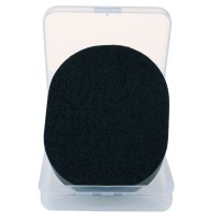 Yizhilian Bamboo Charcoal Soft Wash Face Deep Cleaning Sponge Puff Makeup Care