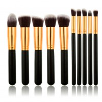 10pcs/set Professional Soft Makeup Brush Set Woman's Cosmetic Kit Makeup Brushes