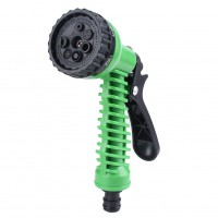 1 pcs 7 Pattern Water Spray Tool Adjustable Car Garden Washing Multi-function