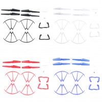 4Set Syma X5 X5C Quadcopter Blade Protection Frames+Blade Propeller+landing gear