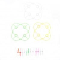 Cheerson CX-10 RC Quadcopter Spare Parts Blade Propeller Thrifty+Protective ring