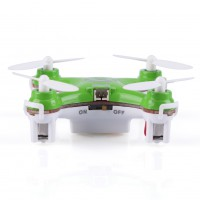 Mini CX-10 2.4G 4CH 6 Axis LED Gyro RC Quadcopter RTF + 3Cover&Propeller Set