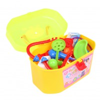 30pcs Baby Kids Doctor Medical Play Set Carry Case Kit Education Role Play Toy