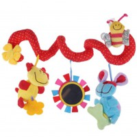 ​Lovely Animal Handbells Developmental Toy Bed Bells Rattle Soft Toys For Kids