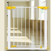 Kids High Fall Protection Walk Thru Stair Door Safety Gate Isolation Pet Barrier