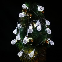 20 LED Mesh Ball Fairy String Light Holiday Wedding Party Patio Christmas Decor