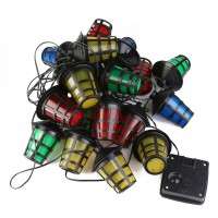 20 LED Fairy Lights Solar Battery Power Lantern String Lights Outdoor Xmas Decor