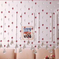 10 M glass crystal bead curtain fashion luxury Home Living Room Bedroom Decor