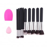 12pcs Makeup Brushes Set Premium Makeup Brush Kit Makeup Naturally Docile