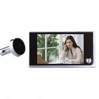 120 Degree LCD Peephole Viewer Door Eye Doorbell IR Camera Safe for Most of Door