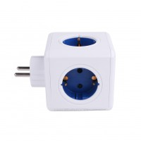 Creative Home Socket 4 Socket 2USB Port Adapter Multi-Function Switch Socket