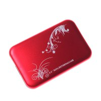 2.5 inch USB2.0 HDD Enclosure, Mobile Hard Disk Box , Red