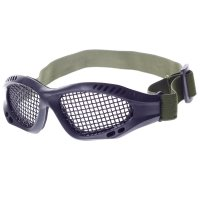 TJZ Mesh Net Eyes Protector Glasses Black
