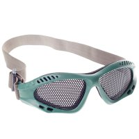 TJZ Mesh Net Eyes Protector Glasses Green