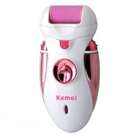 Women Care Tool Electric Exfoliator Pedicure Callus Skin Remover Personal Care Foot Massager Electric Pink
