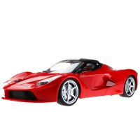 Hao Jun  Remote Control Car One Key Open Door Children Toys Red