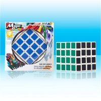 Magic Cube Puzzle Twist , ABS material, window box