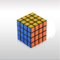 Magic Cube Puzzle Twist , ABS material,black