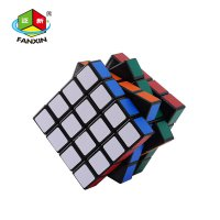 Magic Cube Puzzle Twist , ABS material, Stickon Cardboard packaged