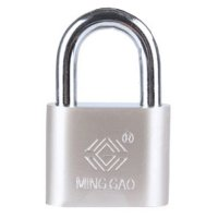 60mm Wide Iron Padlock Security Lock Water Resistant Anti-rust