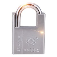50mm Wide Iron Padlock Security Lock Water Resistant Anti-rust