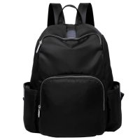 Baby Tote Diaper Backpack Multi-function Mommy Bag Insulation Bottle Pocket Black