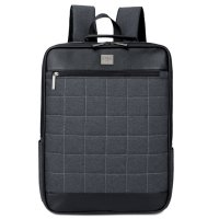 Unisex Business Casual Backpack Computer Shake-resistant Bag Dark Gray
