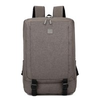 Unisex Business Casual Backpack Computer Shake-resistant Bag Brown