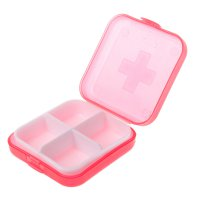 Creative Portable Waterproof Plastic Drug Case Box Container Organizer