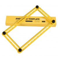Angleizer Template Tool - Measures All Angles And Forms Angle-Izer Template Tool