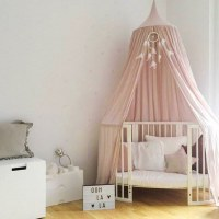 Children Mosquito Net Bed Princess Pastoral Canopy Lace Dome Netting Bedding