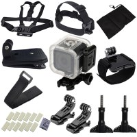 Waterproof GoPro Hero 4 session 5 session Camera Accessory Set for Outdoor