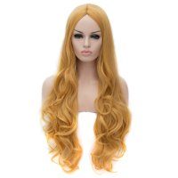 Cosplay Wig Golden Long Curly Hair Wig