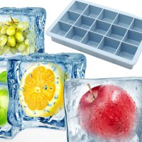 15 Grid Ice Cube Square Pattern Food Silicon Bake Mould DIY Cake Tool M105