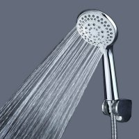Handheld Shower Head 5 Spray Settings V1301 Silver