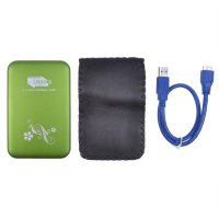 2.5'' USB3.0 HDD Enclosure Mobile Hard Disk case Green