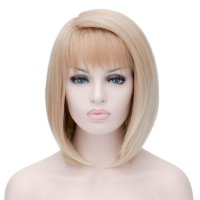 Cosplay Wig Fading Brown Short Hair Wig