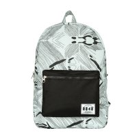 8848 DYBN0014-C054 Unisex Travel Backpack Gray White