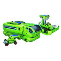 2113 Solar Toy 7-IN-1 Toys DIY Tool Green