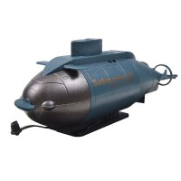 777-216 Mini 6-Channel Remote Control Submarine Blue