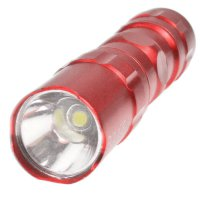 324 LED Mini Flashlight Torch Red